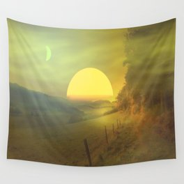 Landscape hike Wall Tapestry