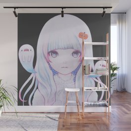 Ghost Girl Pumpkin Wall Mural