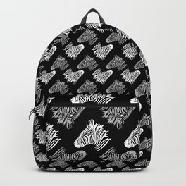Zebra Head Print Backpack