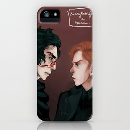 A Mess iPhone Case