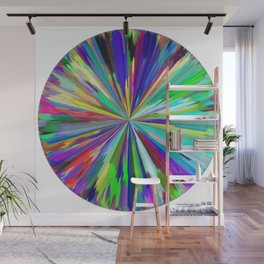 color wheel 06 Wall Mural