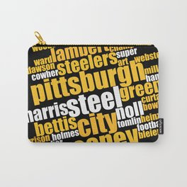 Pittsburgh Football History Word Art Gifts Carry-All Pouch
