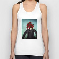 romantic Tank Tops featuring MR. Romantic by Diogo Verissimo