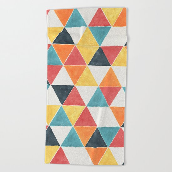 Trivertex Beach Towel
