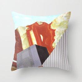 Geometrafuge Throw Pillow