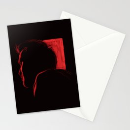 Through a red film Stationery Cards
