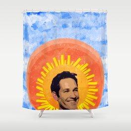 Angelic Paul Rudd Shower Curtain