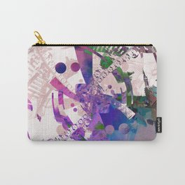 Abstract wallpaper pink Carry-All Pouch