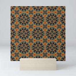 Tapestry pattern Mini Art Print