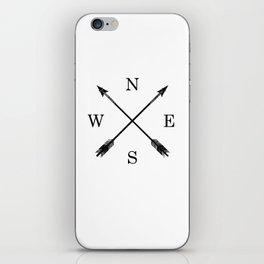 Arrows NSEW iPhone Skin