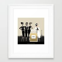 coco Framed Art Prints featuring Coco by Matias G. Martinez