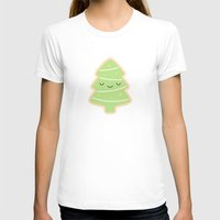 christmas tree T-shirts featuring Christmas Tree by kim vervuurt