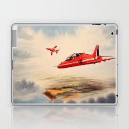 BAe Hawk Aircraft The Red Arrows Laptop & iPad Skin