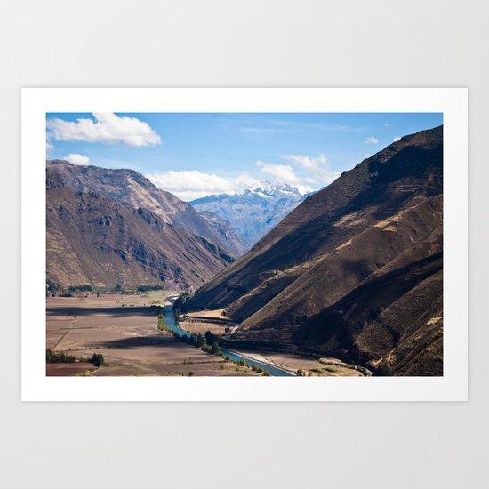 Perú Art Print