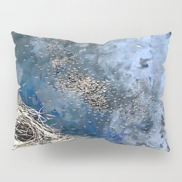 The Process of Letting Go Pillow Sham