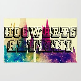 Hogwarts Alumni Rug