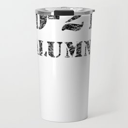 DD-214 USA Army Alumni Veteran Vintage T-Shirt Travel Mug