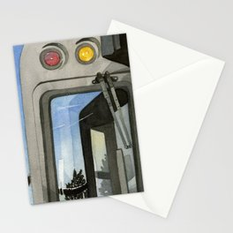 Train, Chicago Stationery Cards