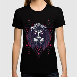 The Mythical Lion sacred geometry T-shirt