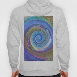 256 - Spiral abstract design Hoody