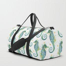 Seahorse: Green Duffle Bag
