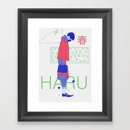 Haru Haru Framed Art Print