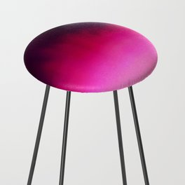 Purple and Black Abstract Counter Stool