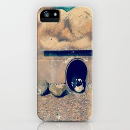 a penguin, for your viewing pleasure . iPhone Case