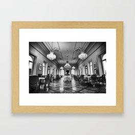 St.Moritz_Switzerland_Hotel Framed Art Print