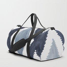 Del Rio Watercolor in Blue Duffle Bag