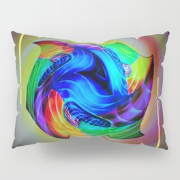 Abstract in perfection - Cube 5 Pillow Sham