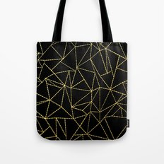 Ab Dotted Gold Tote Bag