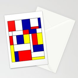Mondrian #38 Stationery Cards