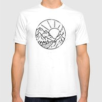 Day White Mens Fitted Tee MEDIUM
