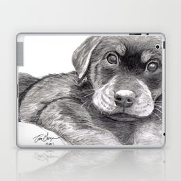 Black and White 8 Laptop & iPad Skin
