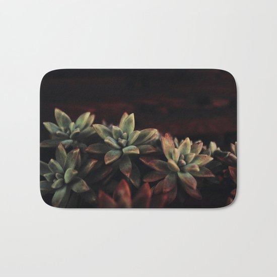 succulent cactus Bath Mat