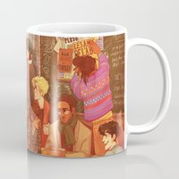 grantaire Mugs featuring Les Misérables: A Group Which Almost Became Historic by batcii