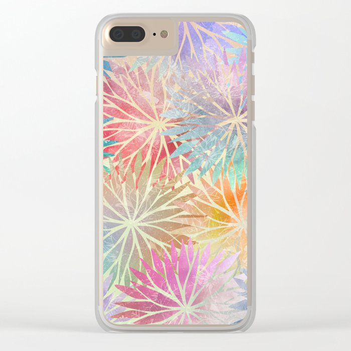 Summer Pattern #3 Clear iPhone Case