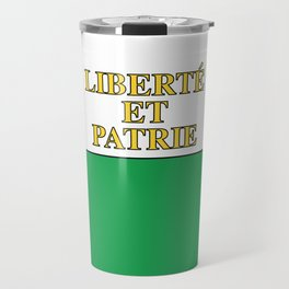 Flag of Vaud Travel Mug