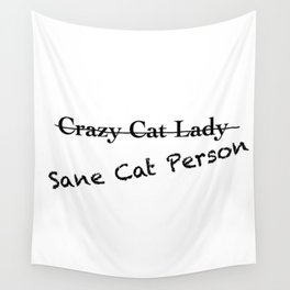 Crazy Cat Lady Wall Tapestry