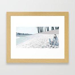 A Cold Winter Framed Art Print