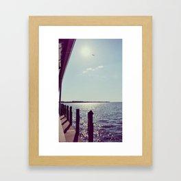 A Million Sun Sparkles Framed Art Print