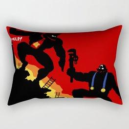 Donkey Knight Rectangular Pillow
