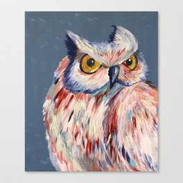 Subtle Owl Canvas Print