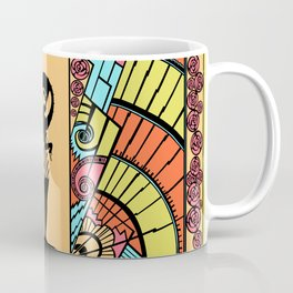 SEASIDE DECO - ART DECO LADY: DESERT ELEGANCE Coffee Mug