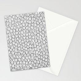 Cat Pattern Stationery Cards