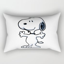 snoopy funny tears Rectangular Pillow