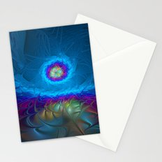 Fantasy, Abstract Fractals Art Stationery Cards