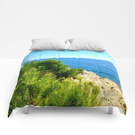 Cap Ferrat Seaside Comforters