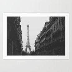 Paris Nº6 Art Print